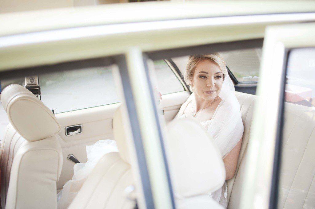 auto do ślubu retro wrocław