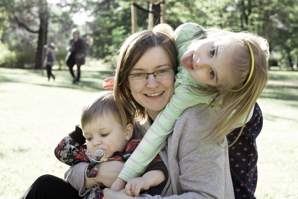 rodzinnie w parku