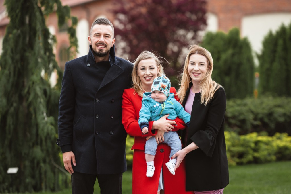 rodzinne zdjęcie w topaczu